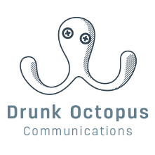 Logo Drunk Octopus Communication