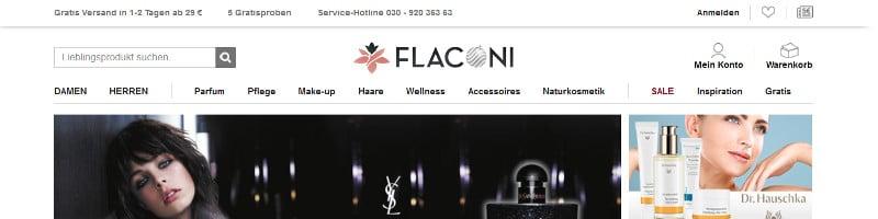 Onlineshop Flaconi
